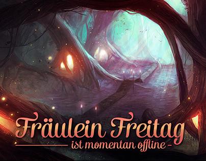 Twitch Channel Design für Fräulein Freitag