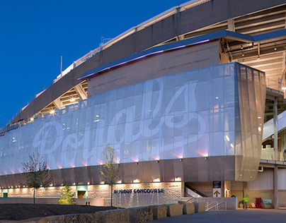 Kauffman Stadium Environmental Graphics