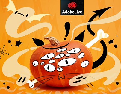 Meowbeast - Adobe MAX Chat Illustrator IPAD