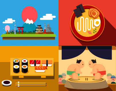 Life in Japan - animation