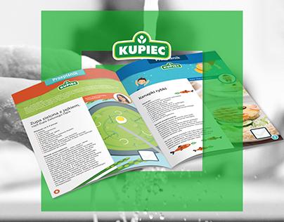 """Zdrowe nietrudne"" branding for KUPIEC"