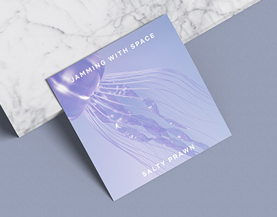 Salty Prawn Album Cover | 3D Illustration