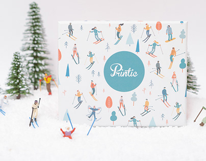 PACKAGING - BOX PRINTIC - winter collection