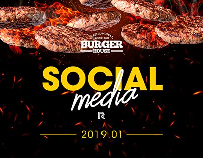 Social Media 2019.01 | Burger House
