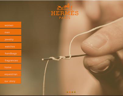 Website Redesign for Hermes