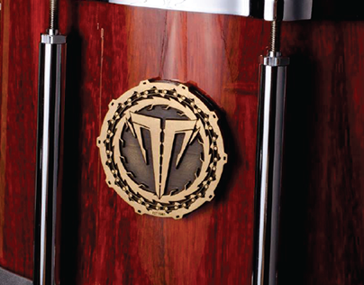 Signature Drums logo design for Michal Tomczak