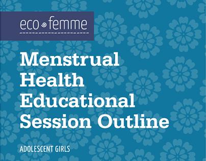 Eco Femme Facilitator's Guide