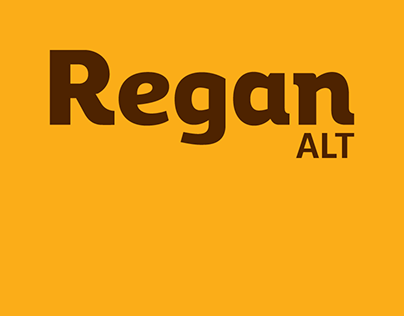 Regan Alt - Typeface