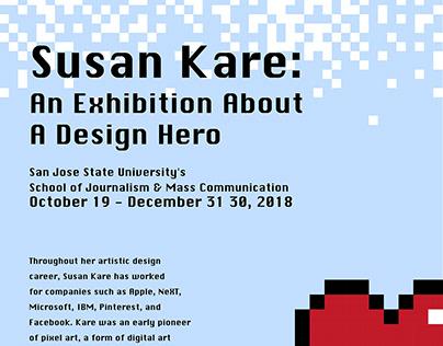 ADV 125 Typographic Poster - Susan Kare