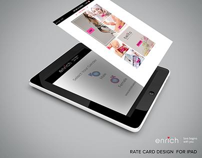 Enrich_Rate Card Design