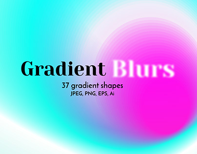 Gradient Blur Abstract Backgrounds