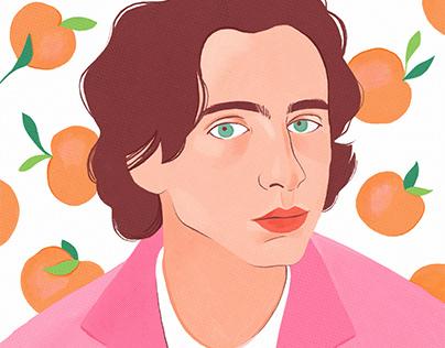Timothée Chalamet - Portrait