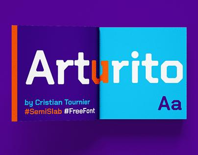 ARTURITO - FREE SEMI SLAB MODERN TYPEFACE