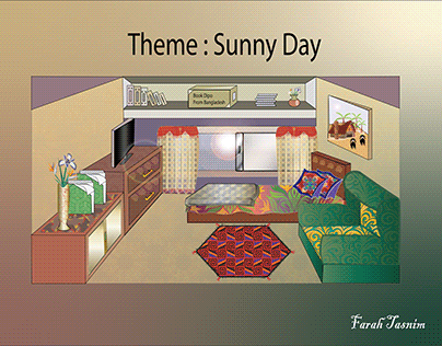 Sunny Day at my dream room