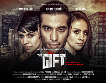 Film Publicity Design for the Movie The Gift