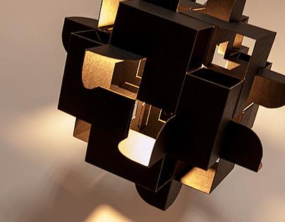 Quios / Cardboard Lamp