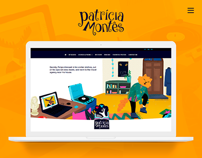 Patrícia Montês — website