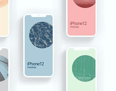 iPhone12 Cray Mockup
