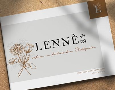 real estate brochure - Lenné