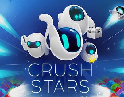 CRUSH STARS Match3 game