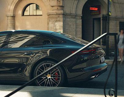 New Porsche Panamera Turbo w/ Chef Aram Mnatsakanov