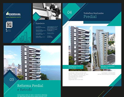 Case Engebahia - Site, Portfólio, Identidade Visual