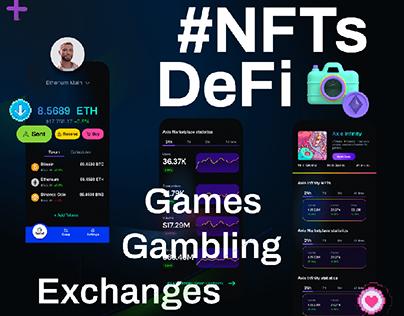 NFT DeFi Gambling - App