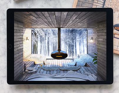 Winter in the Woods (3D)