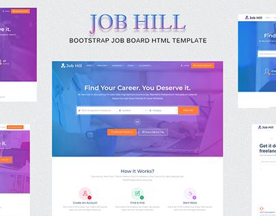 JobHill - Job Board HTML Template