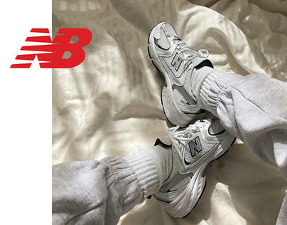 New Balance web page redesign