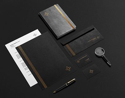 Business & Financial Service brand identity