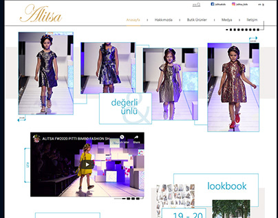 Alitsa Web Sitesi Tasarımı
