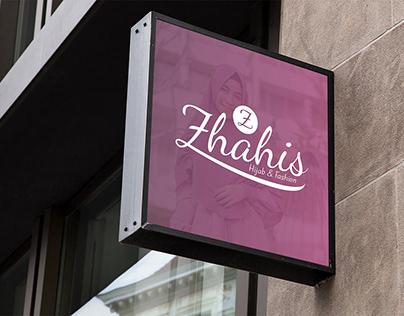 Zhahis Hijab & Fashion Logo