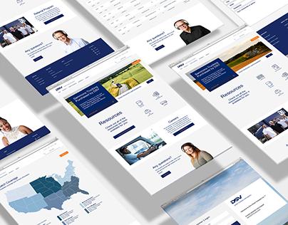 Website UI & Prototyping