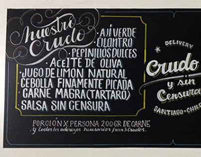 Crudo y Sin Censura, Apoquindo,Las Condes, Santiago CH.
