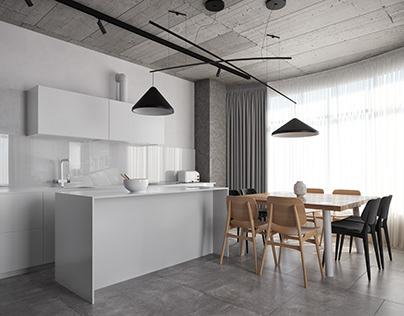 Deep Gray Apartment | True