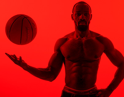 Red basketball