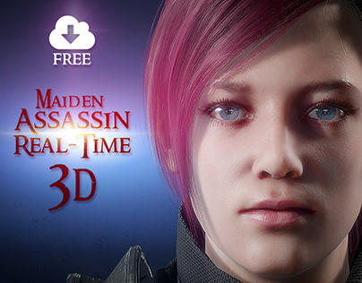 Maiden Assassin Real-Time 3D Unity/Unreal