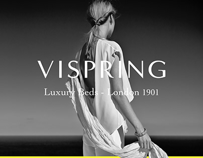 Vispring Luxury Beds - Website