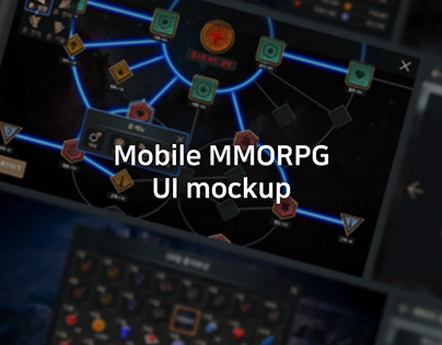 2019Q4_Mobile MMORPG UI Mockup