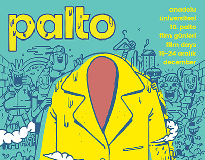 Palto Film Days Comedy Section Poster