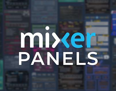 Mixer panels