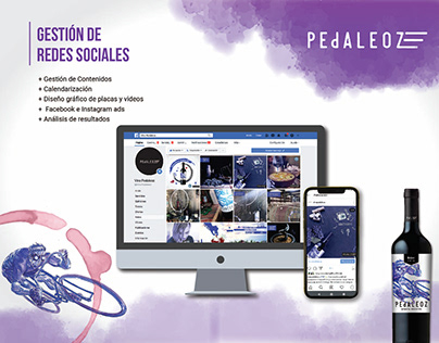 Vino Pedaleoz | Redes Sociales
