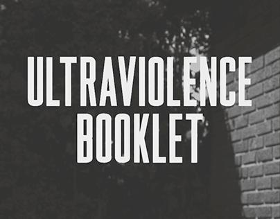 Lana Del Rey Ultraviolence Booklet