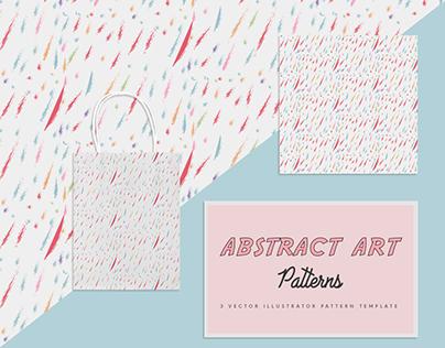 Abstract art free vector pattern | Designertale