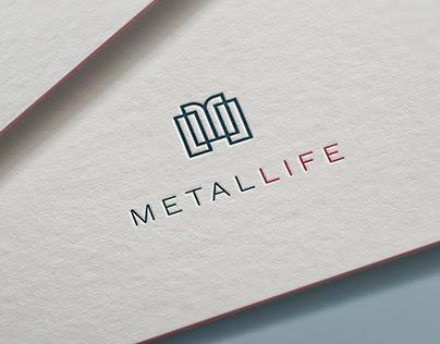 Logo METALLIFE koncept