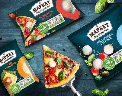 Market Perekrestok - bright and extraordinary brand.