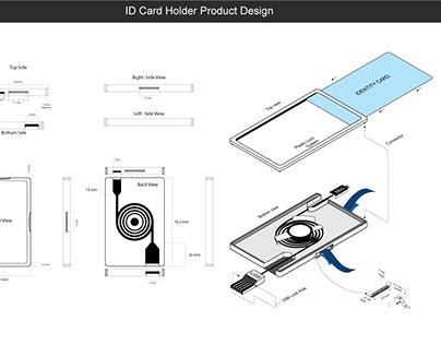 ID card Product design Illustration