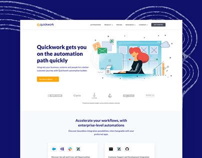 Website design for Quickwork