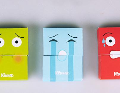 Packaging project: Kleenex